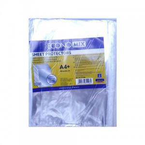 Файлы А4 30мкм Economix 100шт. Crystal