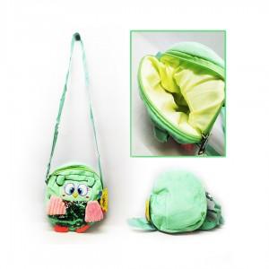 Рюкзак дитяча сова 20,5*18,5 см з паєтками, з ручкою на плече. З підкладкою, 4 кольори мікс