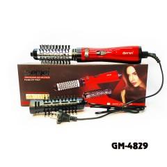Фен-щетка GEMEI GM-4829 800W красный