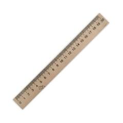 Лінійка дерев'яна (шовкографія) 200 мм