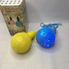 Светодиодная ватная лампа-декор