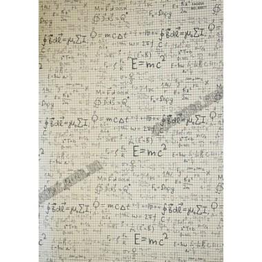 Папір пакувальний крафт 70 г / м2, 52 * 75см, 50 шт в ОРР. Формули