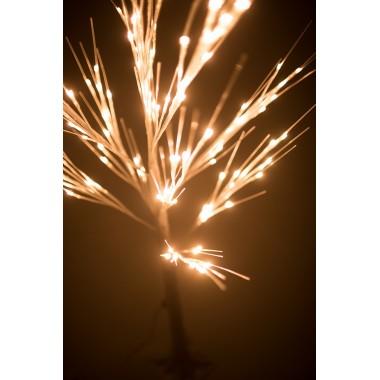 """Новогоднее декоративное светодиодное дерево гирлянда """"Береза"""" 160 см 96 Led тёплый белый"""