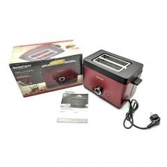 Тостер SilverCrest 850 Watt STT 850 A1 6 степеней прожарки бордовый