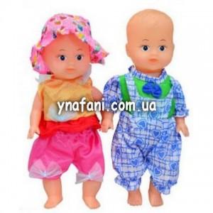 Кукла 2в1 пищалка 24*10
