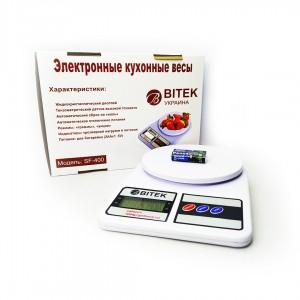 Весы кухонные BITEK YZ-1905-SF-400  10кг.
