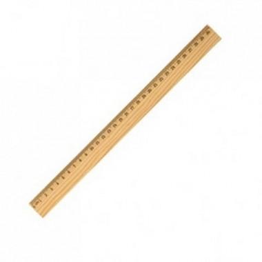 Линейка деревянная 40см (100)