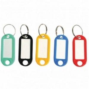 Брелок пластик. для ключей цветной ассорти