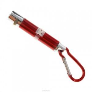 Игрушка лазер-брелок в коробке маленький с фонариком асорти 7см