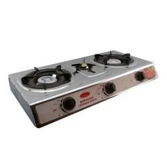 Плита газовая портативная на 3 конфорки D&T Smart DT-1103