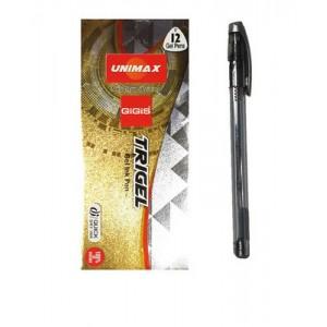 "Ручка гел. ""Unimax"" UX-131-34 ""Trigel-2"" серебро (12)"