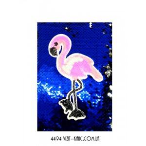 Блокнот А5 Паетки - Фламинго 21903-18