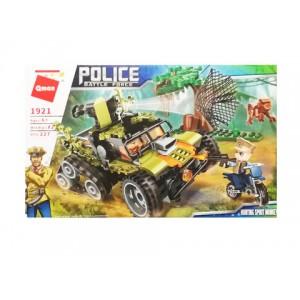 """Конструктор """"Полиция"""" 227дет, в кор. 28х21х4,5см"""