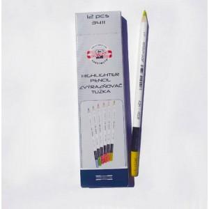 Карандаш-маркет K-I-N Nighlighter 3411 желт