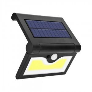 Настенный уличный светильник SH-090A-34SMD (вст.аккум., солн. батарея)