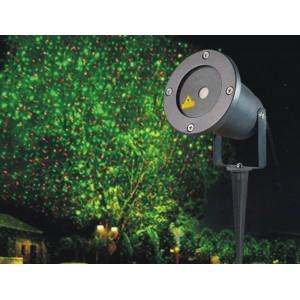 Лазерный LED проектор уличный мульти