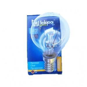Лампа накаливания Искра R14 40 WT Свеча