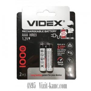 Аккумулятор Бат R3 Videx 1000mAh 1*2bl