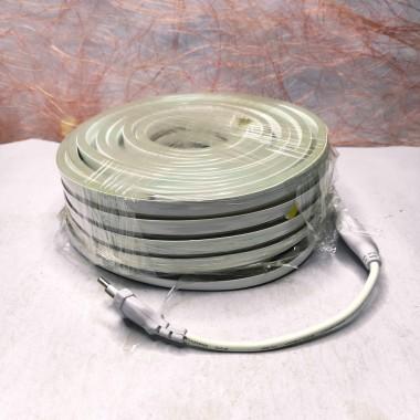Светодиодная гирлянда Rainberg шланг 10 м с белым проводом тёплый белый