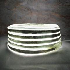 Светодиодная гирлянда Rainberg шланг 10 м с белым проводом белый