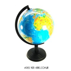 Глобус 22см физич.