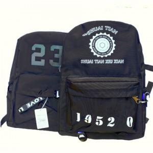 Рюкзак мужской  JU XI LONG черный 45*30см
