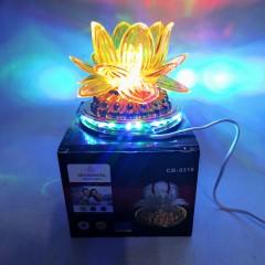 Светодиодный хрустальный шар Crownberg мульти