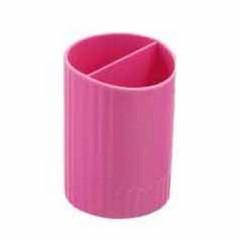 Стакан для ручек пластиковый (мал) (4) (24)
