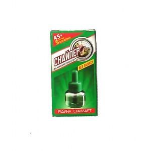 Жидкость от комаров Снайпер для фумигатора 45ночей+5 бесплатно