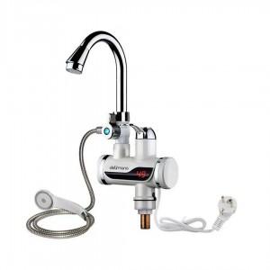 Проточный водонагреватель бойлер с душем LZ008 220V мощность 3000W шнур 1.5 м