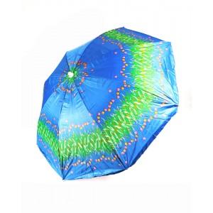 Пляжный садовый зонт от солнца Best Тюльпанчики с наклоном и регулировкой высоты 180 см