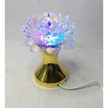 Светодиодная лед лампа лотос от сети мульти
