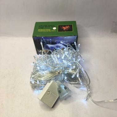 Светодиодная гирлянда 5 м 200LED бахрома с силиконовым проводом белый АКЦИЯ!!!