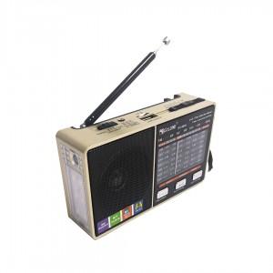 Радиоприемник + фонарик Golon RX-8866ВT бронзовый