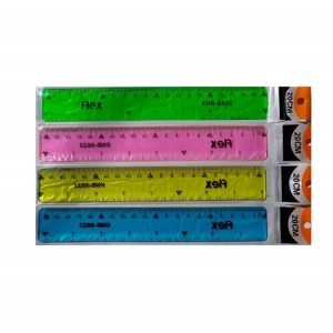 Линейка неломайка 20см, ширина 2,8см, 48шт/упак