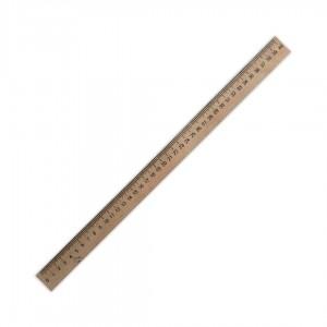 Лінійка дерев'яна (шовкографія) 400мм