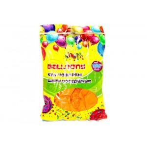 """Кульки 2,8 грам, 12 """", перламутрові 100шт кольору: Помаранчевий (штучные)"""