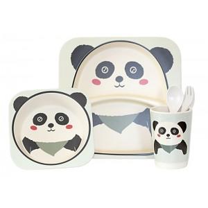 Набор посуды Bamboo kids set 5 предметов белый CP7212(CP7216)