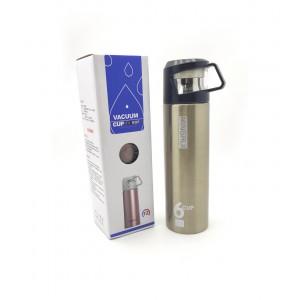 Термос бутылка для питья WB-205-500ML металлик