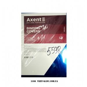 """Обложка д/бинд.""""Axent"""" А4 50шт 180мк 2710 прозр."""