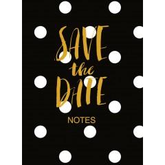 Блокнот В6 Астра My Notes Save Black 80 листов условная клетка на резинке