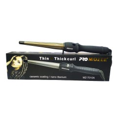 Плойка для волос конусная ProMozer PM-7010 черный