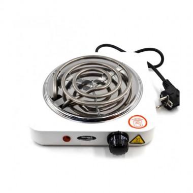 Электроплита однокомфорочная Wimpex WX-100В-HP спиральная 1000Ват. 26*23см цв. белая