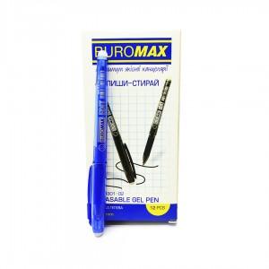 """Ручка гел. Buromax BM8301-01 """"Edit"""" пиши-стирай (0.7)  синяя"""