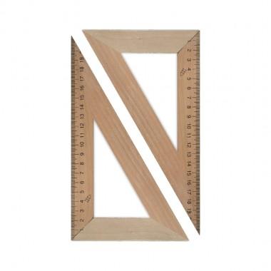 Трикутник дерев'яний 16 см 30x60 1х100,