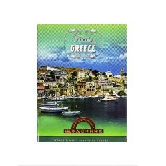 """Щоденник Найрозумніший М'ЯКА обкл.""""Греція""""1В2012"""