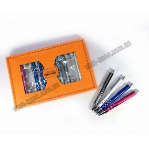 Подарочная ручка металл автомат 1038