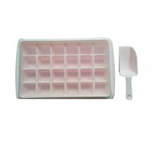 Форма для льда на 24 кусочка+контейнер с лопаткой