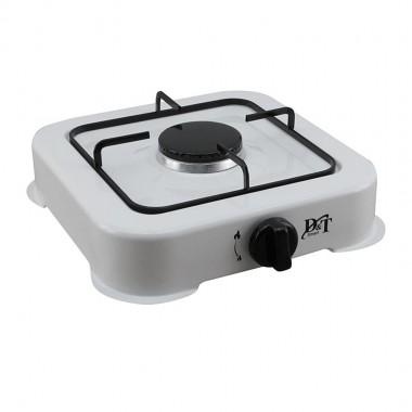 Плита газовая одноконфорочная D&T Smart DT-6001 30*29см цв. белый
