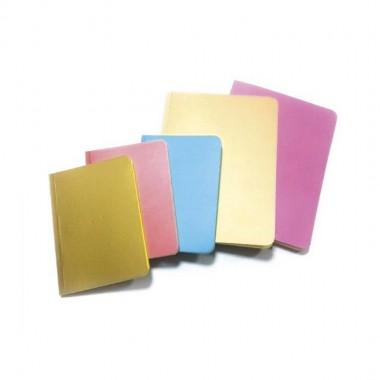 """Блокнот """"Metallic"""" ф.А6, 50 арк, офсет блок внутри цветной чистый лист"""